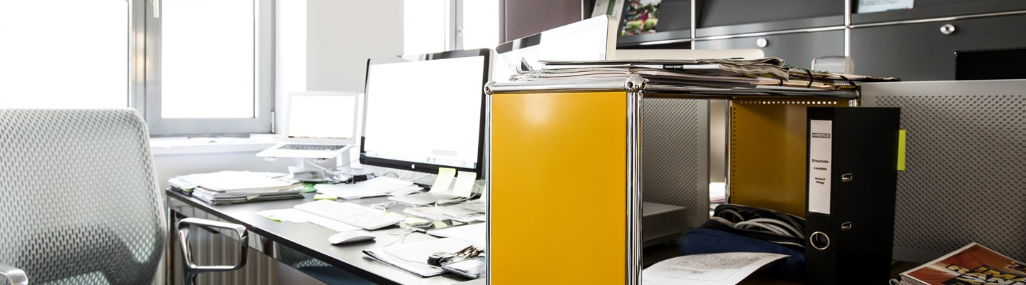 multipurpose yellow and black office furniture for SMEs