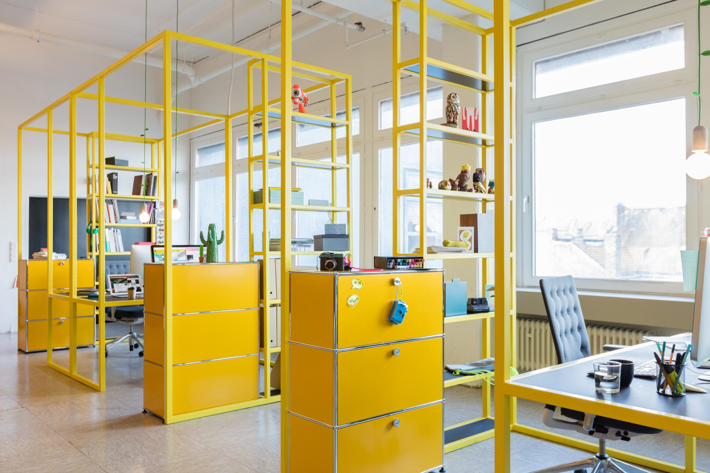 Nos bureaux open space préférés usm pour le bureau usm