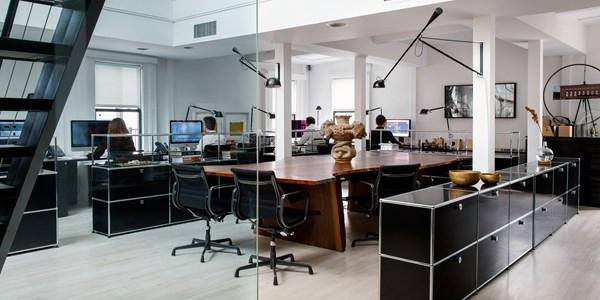 open plan office design stories commercial usm