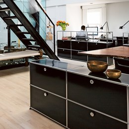Surprising Custom Office Furniture Haller Collection Usm Modular Interior Design Ideas Tzicisoteloinfo